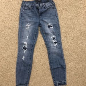 PACSUN JEANS VINTAGE RIPPED